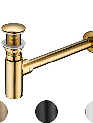 cheap -Faucet Accessory Superior Quality - Contemporary Copper Pop-up Water Drain Without Overflow Chrome