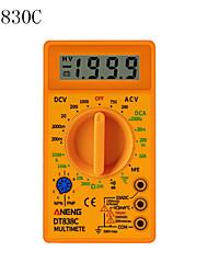 cheap -DT830C  Digital Multimeter Voltmeter Ammeter Ohmmeter DC10V1000V 10A AC 750V Current Tester Test LCD Display DT830B