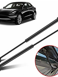 cheap -2Pcs Car Front Engine Hood Gas Spring Lift Supports Struts Car Hydraulic Rod For Tesla Model 3 Auto Accessories