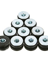 cheap -10pcs Motorcycle Rubber Grommets Bolt For Honda Yamaha Suzuki Kawasaki Fairings