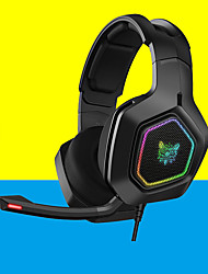 cheap -K Gaming Wired Headset with Volume Control For Gamer
