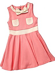 cheap -jackie-o inspired dress (5/6 years old, pink)