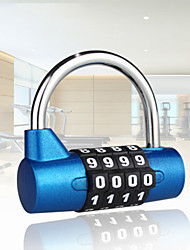 cheap -1523MCND Padlock / Coded Lock Steel Alloy Password unlocking for Drawer / Luggage / Cupboard