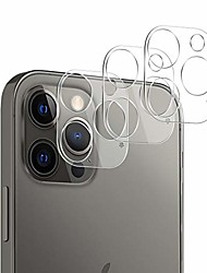cheap -compatible with iphone 12 pro camera lens protector, [3 pack] thin transparent clear camera tempered high definition camera lens protector for iphone 12 pro 6.1 inch,clear