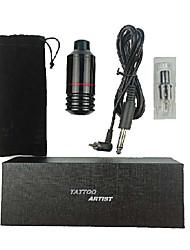 cheap -Basekey Rotary Tattoo Pen Machine Kit Tattoo Permanent Makeup Gun 1Pcs Cartridges Needles