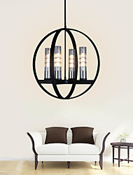 cheap -4-Light 51 cm Candle Style Chandelier Metal Glass Painted Finishes Modern Nordic Style 110-120V 220-240V