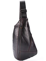 cheap -Men's Bags Polyester Sling Shoulder Bag Chest Bag Zipper Daily Going out 2021 MessengerBag Black