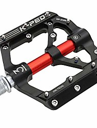 """cheap -mountain bike pedals3 sealed bearings ultra strong colorful cr-mo aluminum alloy cnc machined 9/16"""" non-slip for road bmx mtb fixie bikes"""