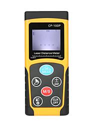 cheap -100m Portable Handheld Digital Laser Distance Meter High Precision Range Finder Area Volume Measurement Data Storage with Backlight