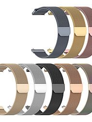 cheap -Watch Band for Garmin Vivomove /  Garminmove 3 / Vivomove HR / vivoMove style / Garminmove Luxe Garmin Milanese Loop Stainless Steel Wrist Strap