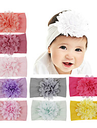 cheap -1pcs Infant Girls' Sweet Floral Floral Style Hair Accessories White / Black / Blue One-Size