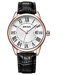 cheap -rome style silver case genuine leather strap watches women lady fashion luxury dress magnifier date display wrist watch black