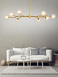 cheap -8-Light 135 cm Sputnik Design Cluster Design Chandelier Metal Glass Island Painted Finishes Modern Nordic Style 110-120V 220-240V