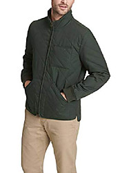 cheap -men's the oliver coated cotton diamond quilted jacket, x-large