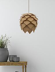 cheap -1-Light 30 cm LED / Designers Pendant Light Wood / Bamboo Wood / Bamboo Wood Tiffany / Rustic / Lodge / Vintage 90-240V / 110-120V / 220-240V