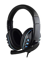 cheap -Wired Stereo Head-mounted Headset for PS4Xbox PC Overall Feel is a Good Hale and Hearly Atmosphere Wear Comfortable