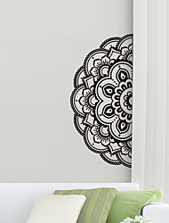 cheap -Creative Personality Flower Of Life Mandala Culture Yoga Home Background Decoration Can Be Removed Stickers 43*89CM