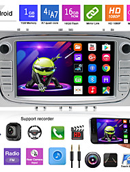 cheap -Android 9.1 2 Din Car Radio GPS Multimedia Player For Ford Focus 2 Mk2 EXI MT 3 S-Max Mondeo Galaxy II Kuga C-Max NO DVD