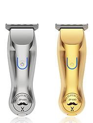 cheap -Metal professional trimmer hairdresser men's wireless rechargeable electric clippers men beard trimmer cutter tips open hair
