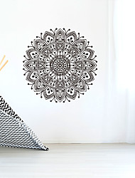 cheap -Wall Sticker Creative Personality Flower Of Life Mandala Culture Yoga Home Background Decoration Can Be Removed Stickers 57*57CM