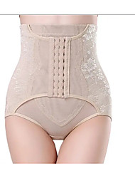 cheap -Corset Women's Plus Size Thigh Slimmers Seamless Simple Style Breathable Comfortable Classic Tummy Control Fashion Pure Color Hook & Eye Nylon Polyester Christmas Halloween Wedding Party Birthday