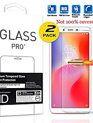 cheap -screen protector for xiaomi redmi 6 (5.45-inch) smartphone tempered glass phone protective film (2 pack)