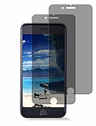 cheap -[2-pack]  iphone 8 plus 7 plus tempered glass privacy screen protector [no bubbles][9h hardness] compatible with apple iphone 8 plus and iphone 7 plus and iphone 6 plus privacy
