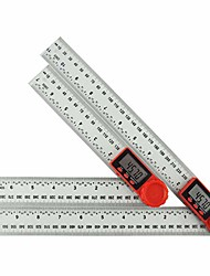 cheap -digital protractor angle finder abs plastic ruler (200mm/7inch and 300mm/12inch) (transparent - 300mm)