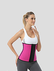 cheap -New Rubber Corset Sports Waist Cover With 25 Steel Bone Support Is Available In Various Colors