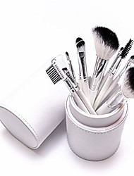 cheap -portable 5 eye makeup brush set of 5 eyeshadow brushes liquid small brush makeup tools are suitable for facial contours, easy to apply, slow release (color : white)