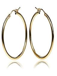 cheap -14k yellow gold filled hoop earrings, 41mm