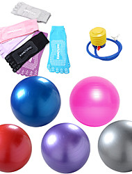 cheap -85cm Exercise Ball / Yoga Ball Professional Thick PVC(PolyVinyl Chloride) Support 150 kg With Quick Guide Foot Pump Balance Training for Yoga Pilates Workout