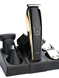 cheap -Five-In-One Multi-Function Oil Clippers USB Rechargeable Electric Hair Clippers Electric Hair Clippers Set