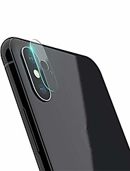 cheap -2pcs camera lens protector for iphone xs/xs max 9h hardness back camera lens tempered glass film 3d protector cover (5.8 inch for xs)