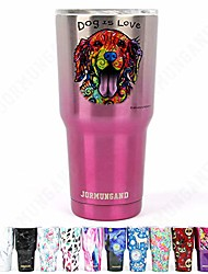 cheap -jormungand tumbler 30oz stainless steel vacuum insulated travel mug with lid of straw friendly double wall coffee cup dog