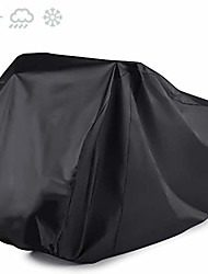 cheap -bicycle cover for 3 bike waterproof cycle protection uv rain snow proof tarp for bikes all weather dust resistant (black)