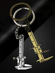 cheap -Portable 0-4cm micro vernier caliper measuring tool Mini Key Chain Tool Pendant