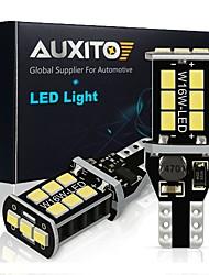 cheap -2x W16W T15 LED Bulbs 2835 SMD Canbus OBC Error Free LED Backup Light 921 912 W16W LED Bulbs Car Reverse Lamp Xenon White DC12V