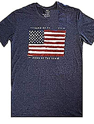 cheap -graphic tee t-shirt american flag (xxl, american flag)