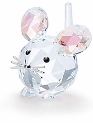 cheap -swarovski 125th anniversary mouse, limited edition white one size