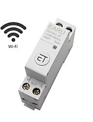 cheap -Intelligent Timer Switch Relay Remote Control Wifi Circuit Breaker 50A