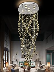 cheap -50cm LED Crystal Chandelier Modern Luxury Ceiling Light DIY Modernity Luxury Globe K9 Crystal Pendant Lighting Hotel Bedroom Dining Room Store Restaurant LED Pendant Lamp Indoor Lighting