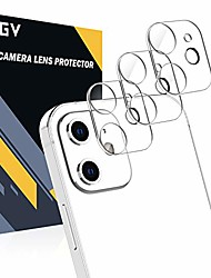 cheap -[3 pack] camera lens protector compatible with iphone 12 5g (6.1''), hd clear tempered glass back camera protector [anti-scratch] [ultra-thin] [easy installation]