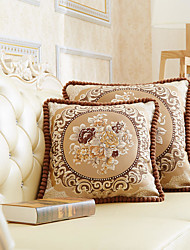 cheap -Cushion Cover European Style Palace Retro Style Precision Jacquard High Quality Pillow Case Cover Living Room Bedroom Sofa Cushion Cover