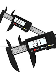 cheap -Measuring plastic carbon fiber electronic digital vernier caliper with 0-100 mm electronic digital display caliper