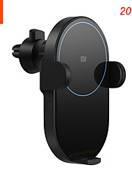 cheap -Xiaomi Wireless Car Charger 20W Max Power Inductive Electric Clamp Arm Double Heat Dissipation Fast Charging