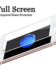 cheap -tempered glass screen protector suit for iphone 7,  screen guard high clear full cover 9h tempered glass protective film for iphone 8 [4.7 inch] (white)