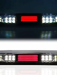 cheap -led 3rd brake light high mount stop light cargo light fit for 2004-2008 ford f-150, 2007-2010 ford explorer sport trac, 2006-2008 lincoln mark lt (chrome housing smoke lens)