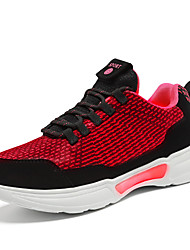 cheap -Boys' Girls' Trainers Athletic Shoes LED Shoes PU Light Up Shoes Little Kids(4-7ys) Big Kids(7years +) Walking Shoes LED Red Green Spring Fall
