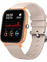 cheap -smart watch with heart rate sleep monitor bluetooth music control all-day activity step counter smart bracelet compatible with android ios phones for women men
